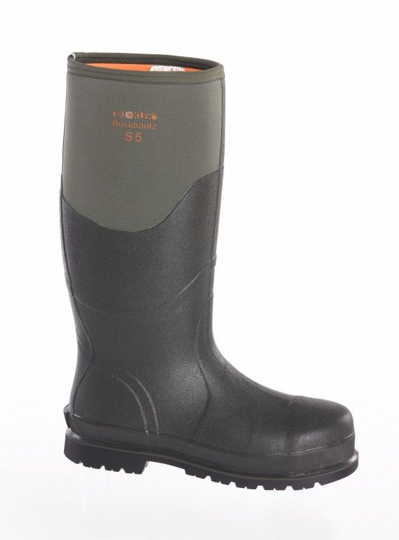 Buckler Buckbootz BBZ6000GR Safety Wellington Boots
