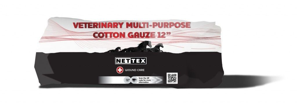 Nettex Veterinary Multi-Purpose Cotton Gauze 12