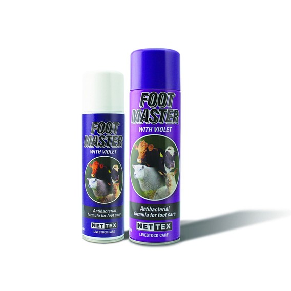 NETTEX Foot Master with Violet Anti-Bacterial Spray