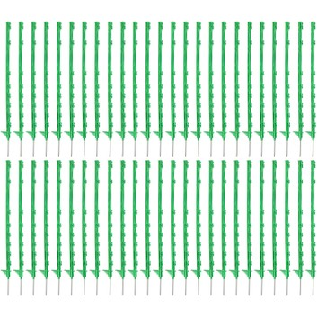 50 x 105cm Hotline Green CP2000G Multiwire Electric Fence Posts