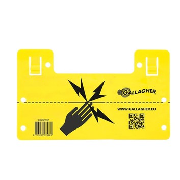 Gallagher Electric Fence Warning Sign UK