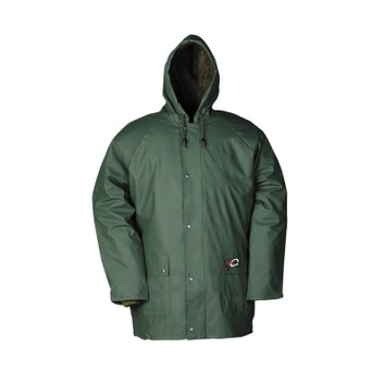 Flexothane Essential Dover Winter Rain Jacket Olive Green