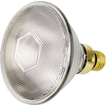 Tusk Intelec PAR38 Es27 Glass Infra-Red Bulb Clear - 175w