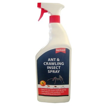 Rentokil Ant & Crawling Insect Spray - 1 Litre