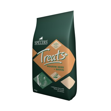 Spillers Meadow Herb Treats + Biotin - 8 X 1 KG