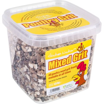 Tusk AgriVite Chicken Mixed Grit - 1.5 KG