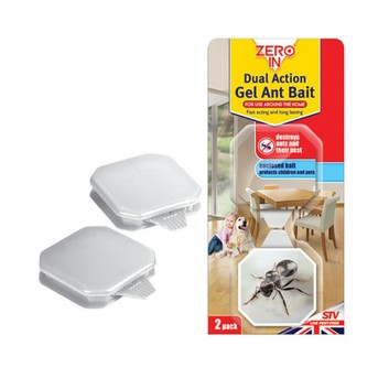 Zero In Dual Action Gel Ant Bait - TWIN PACK