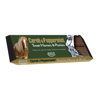 Hatchwells Horse Treat Bar Carob & Peppermint - 20 PACK