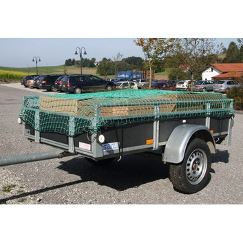 Fray-Resistant Trailer & Truck Cargo Net - Various Sizes - 45mm Mesh Size