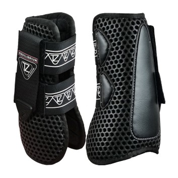 Equilibrium Tri-Zone Open Fronted Boots Black