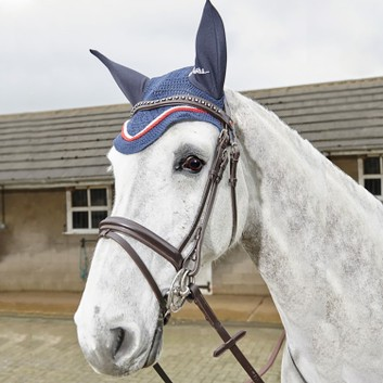 Whitaker Lynton Flash Bridle with Spare Browband Havana
