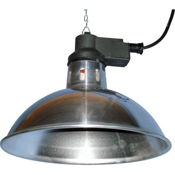 Intelec Traditional Infra-Red Lamp 11 3/4 Inch Shade