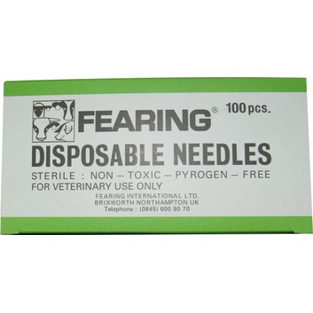 Needles Disposable