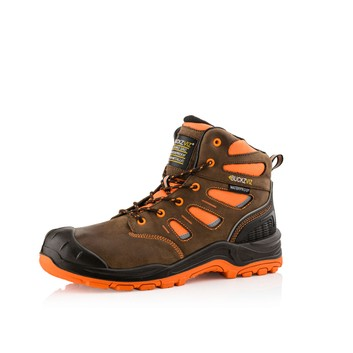 Buckler BVIZ2ORBR S3 Buckz Viz Safety Lace Boot