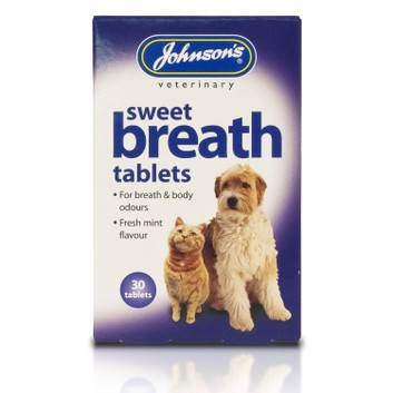 Johnson's Veterinary Sweet Breath Tablets