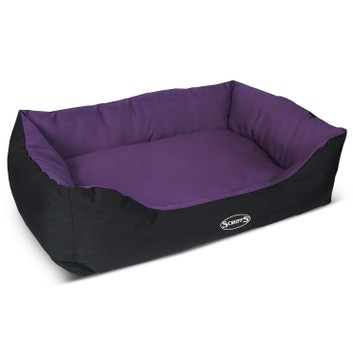 Scruffs Expedition Box Bed Plum