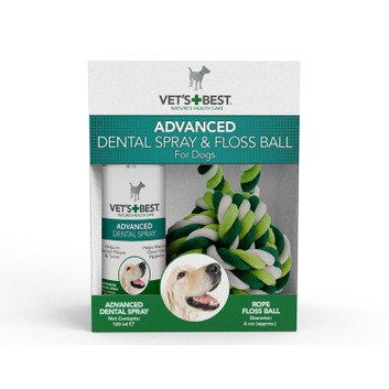 Vets Best Dental Pocket Spray & Floss Ball