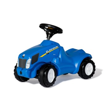 Rolly Minitrac New Holland Foot-To-Floor Mini Ride-On Tractor