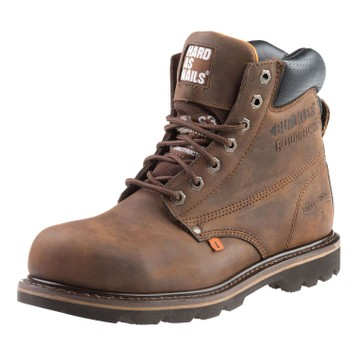 Buckler B425SM SB Dark Brown Lace Safety Boots
