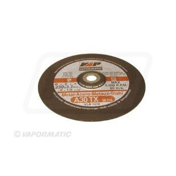 10 x 230mm Dished Metal Cutting Discs