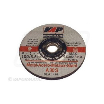 10 x 100mm Metal Grinding Disc