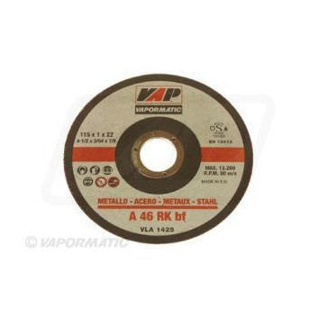 25 x 115mm Flat Metal Cutting Discs