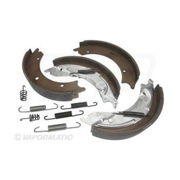 "Knott Type Brake Shoe Kit (250x40mm 10"")"