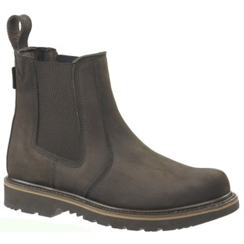 Buckler Buckflex B1400 Chocolate Brown Non-Safety Dealer Boots