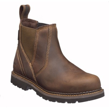 Buckler Buckflex B1500 Non-Safety Brown Dealer Boots