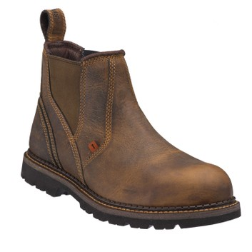 Buckler Buckflex B1555SM SB Brown Safety Dealer Boots