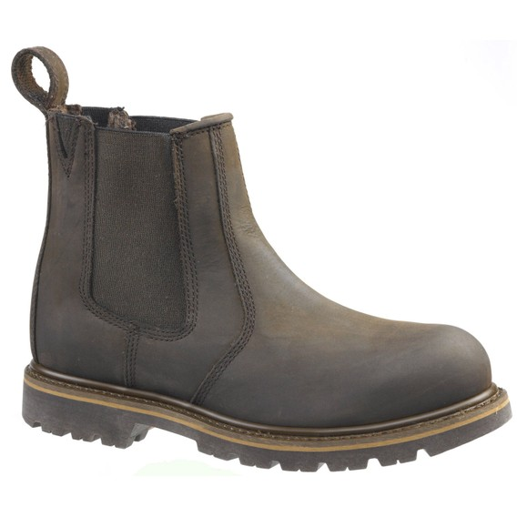 Buckler Buckflex B1150SM SB Chocolate Brown Safety Dealer Boots