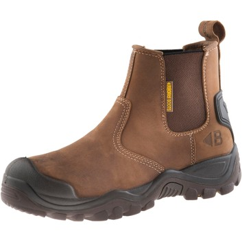 Buckler Buckshot BSH006BR S3 Dark Brown Safety Dealer Boots