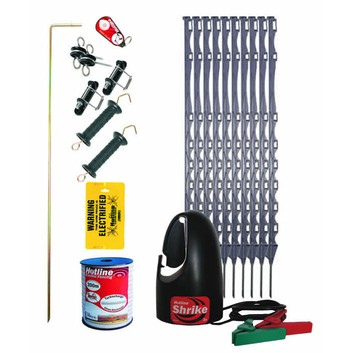 Hotline 100m Horse Electric Fence Kit - HK100