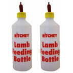 500ml Ritchey Lamb Feeding Bottle With Red Teat Multibuy