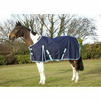 ProTack Lightweight 600D Turnout Rug - Navy