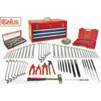 Genius Tools 109pc Tool Kit + Lockable Toolbox