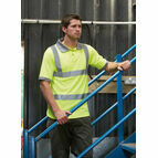 Dickies Hi Vis Safety Polo Shirt - Yellow