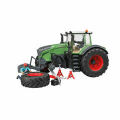 Bruder Fendt 1050 Vario with mechanic and garage equpment 1:16