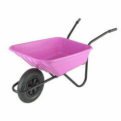 Shire Wheelbarrow 90L Pink