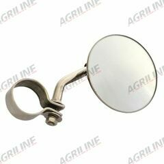 Exhaust Mounted Rear View Mirror & Clamp