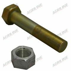 Nut & Bolt- Front Axle Horizontal 5/8