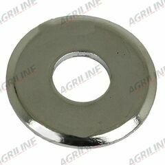 Chrome Steering Wheel Washer