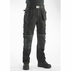 Buckler BX001 Buckskinz Work Trousers Black - Long