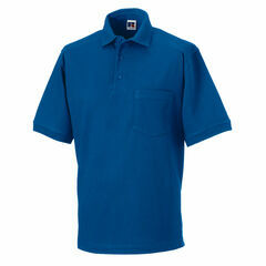 Russell Men's Heavy Duty Polo Shirt - Bright Royal Blue