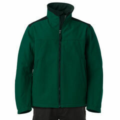 Russell Softshell Jacket - Bottle Green