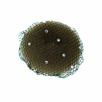 ShowQuest Bun Net with Swarovski Crystals - 5 Pack