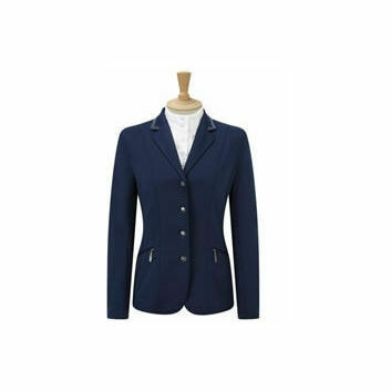 Caldene Competition Jacket Cadence Stretch Girls Navy