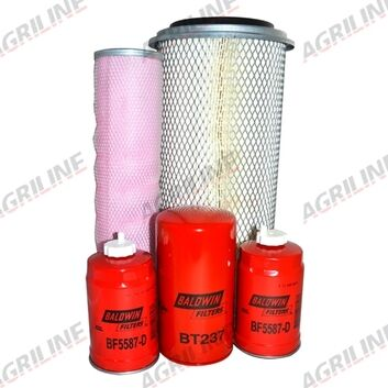 Massey Ferguson 3075, 3085, 3095, 3120, 6130, 6140, 6150, 6160, 6170, 6180 Filter Kit