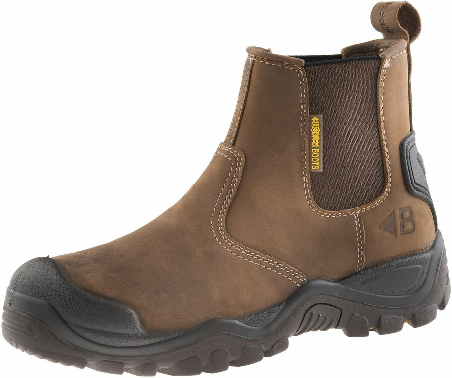 buckler buckshot bsh006br brown safety dealer boots