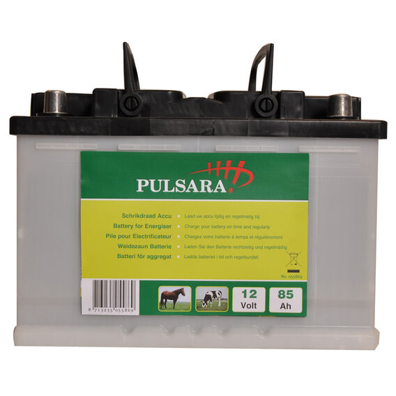 Pulsara 12V Rechargeable Electric Fence Battery